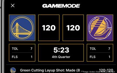 LiveLike rolls out app features with Warriors and Nascar