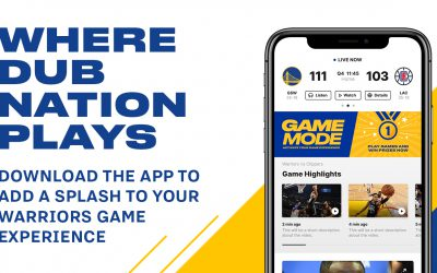 Golden State Warriors Add 'Game Mode' to Mobile App