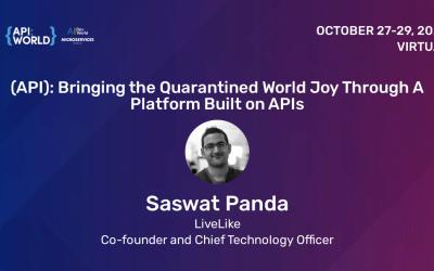 Bringing the Quarantined World Joy Through A Platform Built on APIs